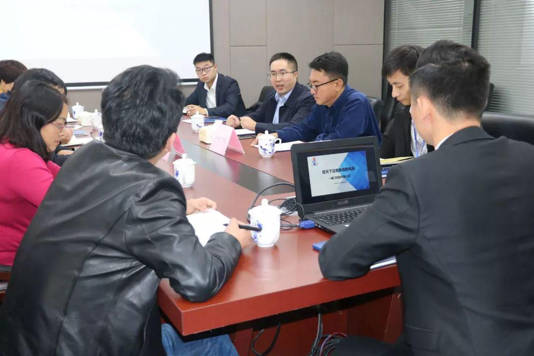 云南省宣威市商务局局长李继华莅临一扇门参观考察!