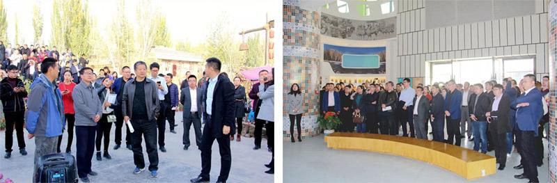 商务部电商专家下乡活动在喀什召开,一扇门董事长刘丰春受邀授课